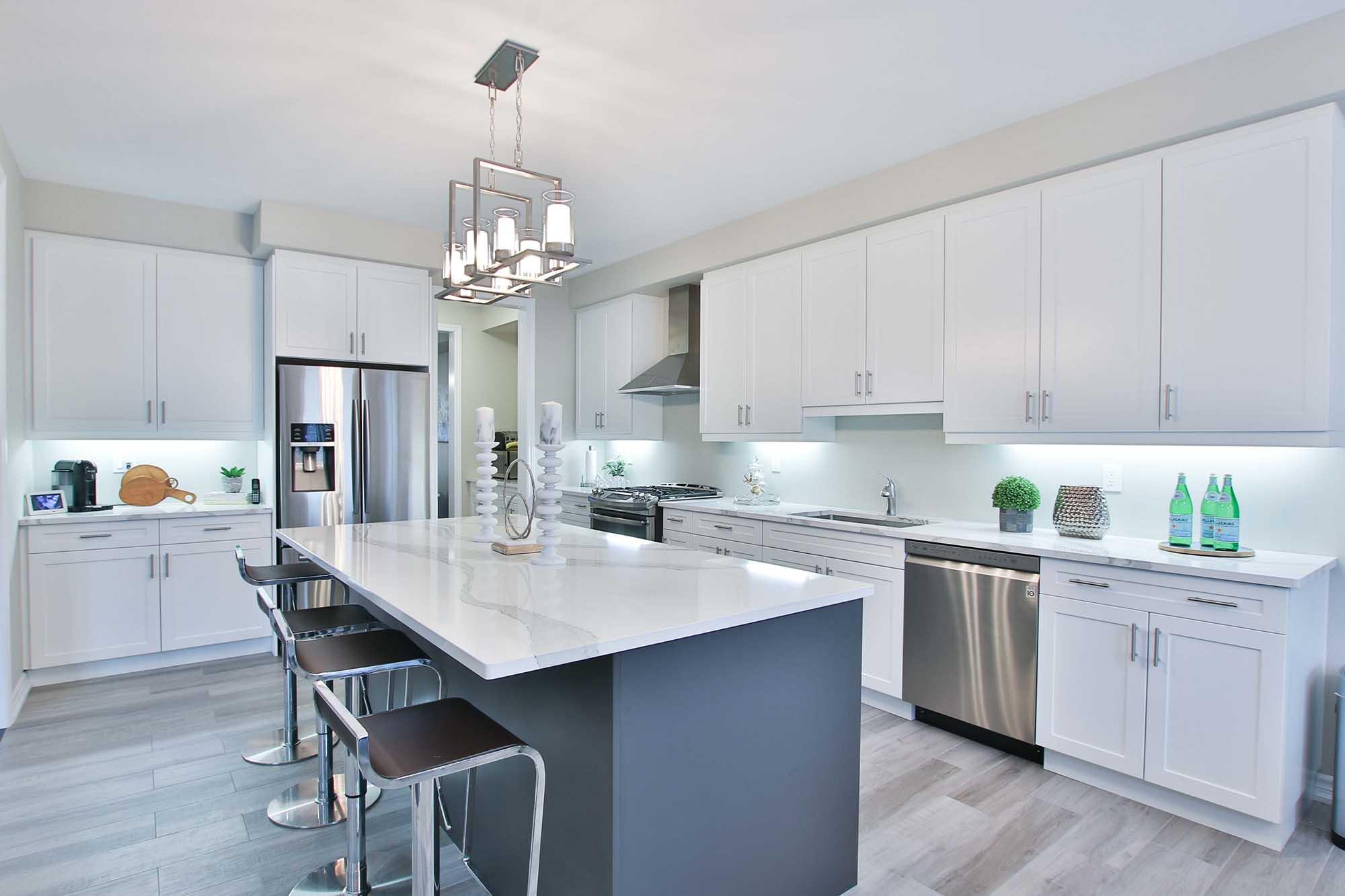 Cómo ganar espacio en la cocina?